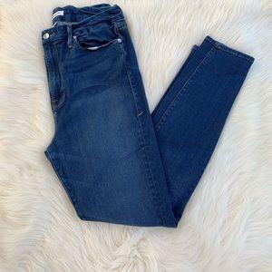 Good American Good Waist Skinny Jeans High Waisted